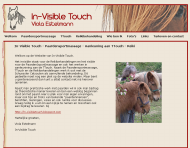 Invisible Touch - In-Visible Touch - Paardensportmassage - Aanleuning aan TTouch - ReikiThumbnail